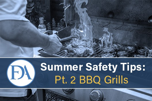 Summer Safety Tips, Part 2: 10 BBQ Tips for Keeping it Chill on The Grill